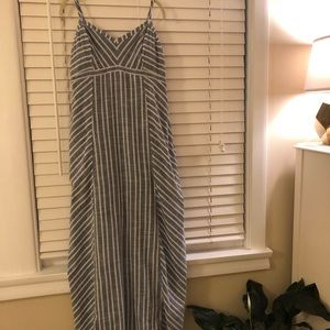 Athleta Maxi Dress with built in bra size 10